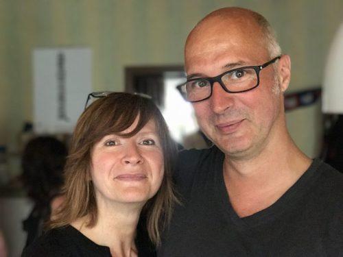 Winzer Thomas Sonntag und Innenarchitektin Elke Ries